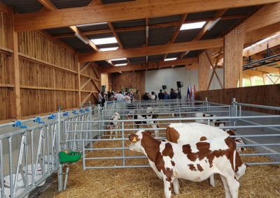 Batiment d'élevage lait bio séchage en grange saint gaudens 2018
