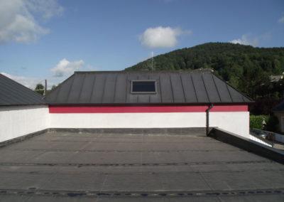 Etancheite Centre de secours - EPDM + isolation + fixation mécanique à Saint Pé de Bigorre (65)