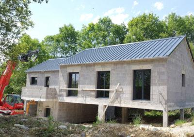 Couverture en bac acier isolé à Saint-Jamme (64) 2016