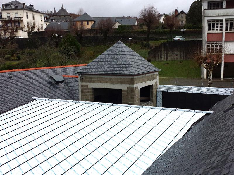 Couverture de toiture – couverture à joint debout