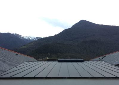 Joint debout en zinc ANTRA - Ecole de saint Pé de Bigorre (65)