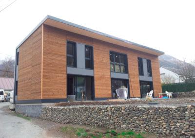 Isolation en toiture en fibre de bois