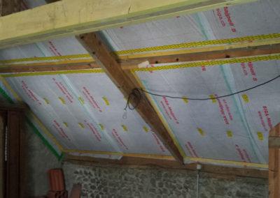 APRES Réfection couverture + isolation en toiture fibre de bois RGE à Juillan (65)