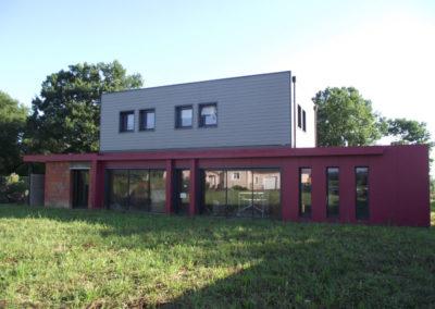 Ossature Bois – construction d'une maison bois
