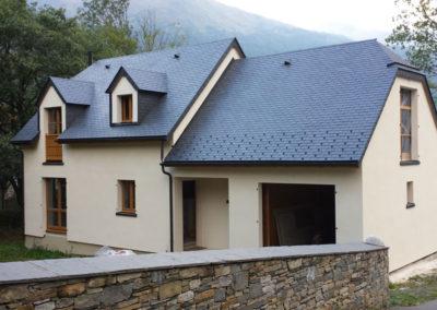Ossature Bois – construction d'une maison à Esquièze (65)