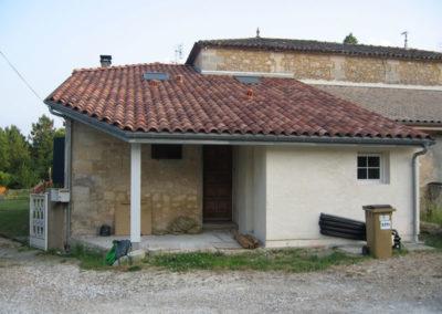 Isolation en toiture rampante en fibre de bois – Périssac